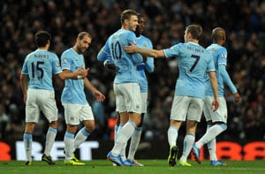 EPL: Seven-goal Manchester City swagger into top four