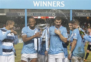 Manchester City edge past Sunderland to win Barclays Asia Trophy