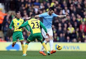 EPL: Manuel Pellegrini blames injury woes for Manchester City's slump