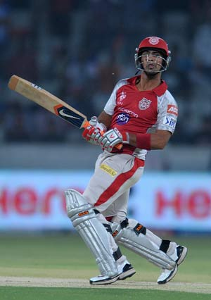 Statistical highlights: IPL 5, Kings XI Punjab vs Deccan Chargers