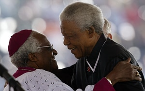 Tiger and Westwood's praise among birthday tributes to Mandela
