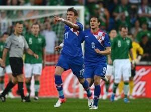 Euro 2012: Croatia press hails first win, hero Mandzukic