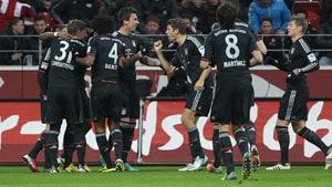 Mandzukic claims brace as Bayern dismiss Mainz