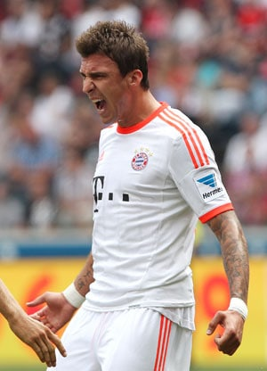 Mario Mandzukic gives Bayern Munich 1-0 win in Frankfurt