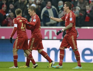 Business as usual as Bayern return with victory