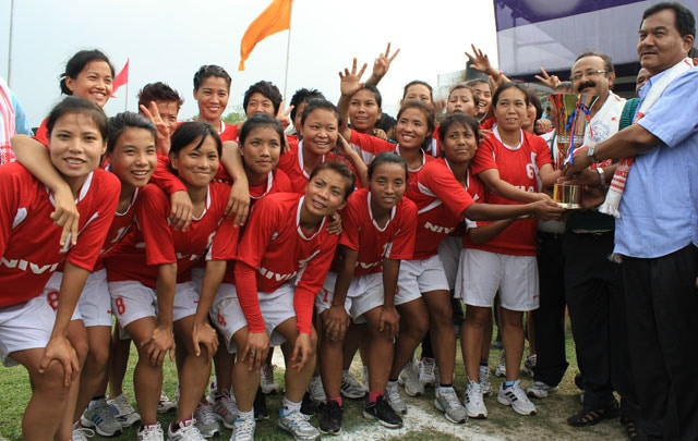 Manipur Thrash Orissa; Clinch 20th Women's National Football Championship