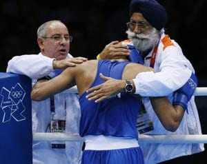 London 2012 Boxing: Manoj Kumar blames cheating for his exit
