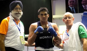 Manoj Kumar, three other boxers enter semis of Asian Championships; four medals assured