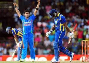 India beat Sri Lanka by six wickets, win series