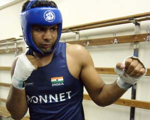Boxer Manpreet Singh sets up last-16 bout with top seed in world championship