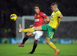Manchester United knocked off summit after losing at Norwich
