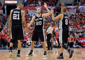 Manu Ginobili sparks San Antonio Spurs to Game 5 win, on brink of NBA title