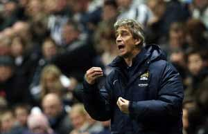 Manuel Pellegrini buoyed by Manchester City