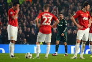 Manchester United 'cheated' by referee: British press