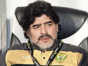 Maradona hospitalized in Dubai with kidney stones