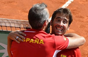 Spain sweep Ukraine 5-0 in Davis Cup playoff tie