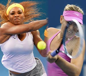 Serena Williams, Maria Sharapova to meet in Brisbane semifinals