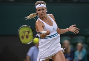 Maria Kirilenko has superstar bagman