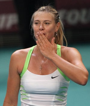 Maria Sharapova begins French Open build-up in Stuttgart