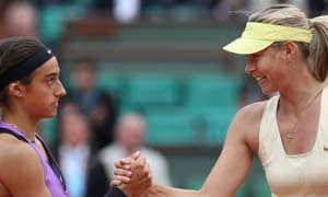 Sharapova made to fight hard for her win