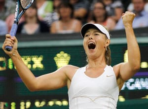 London 2012 tennis: Sharapova moves into world number two spot