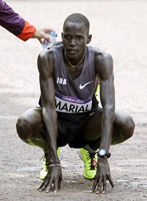 London 2012 Athletics: No flag, no problem for Guor Marial