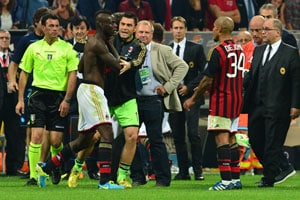 Mario Balotelli handed three-match ban for confronting referee