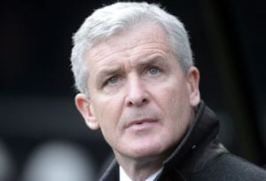 Stoke City appoint Mark Hughes as manager