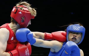 Olympic boxing: Mary Kom punches her way into quarter-final