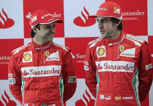 Alonso is toughest rival, says Massa