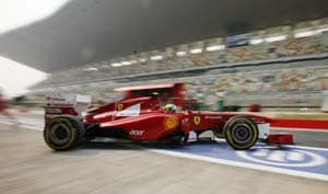 Indian Grand Prix: Massa tops practice 2