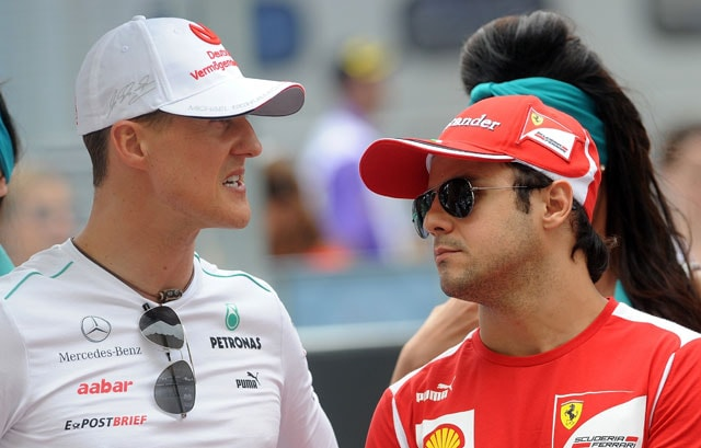 Michael Schumacher showing 'responses', hope he will enjoy life again: Felipe Massa