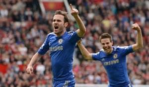EPL: Mata grabs winner as Chelsea beats Man United 1-0