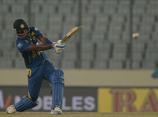 Asia Cup: Felt the pressure while chasing vs Bangladesh, admits Angelo Mathews