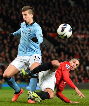 Manchester City lose Matija Nastasic for up to six weeks