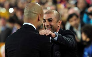 Di Matteo brushes off Guardiola job threat