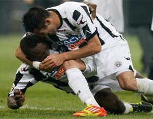 Udinese keep flying as Inter woes continue
