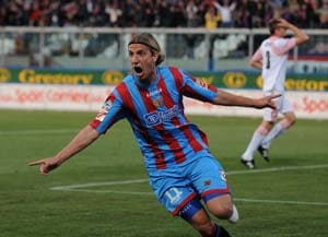 Catania consider Maxi Lopez sale to AC Milan