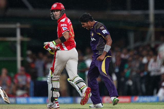Glenn Maxwell Fails to Spoil Kolkata Knight Riders' Party