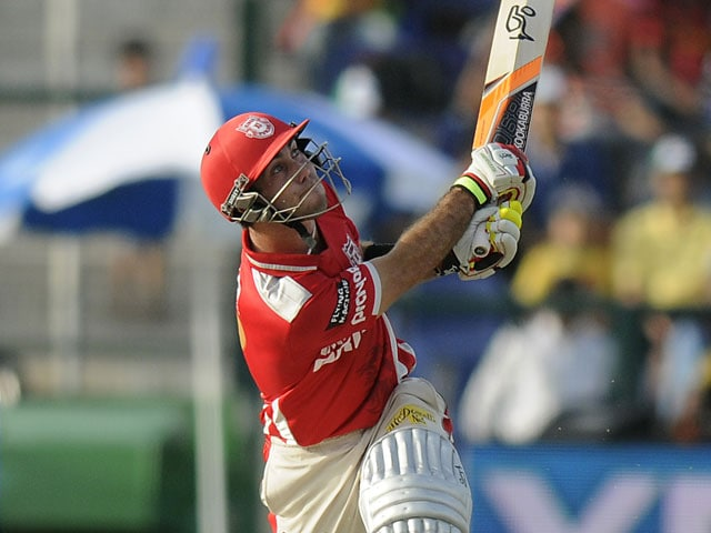 Glenn Maxwell is the man to beat in IPL 7 at the moment: Shane Watson