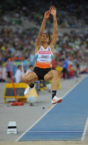 Mayookha qualifies for World Championships long jump finals