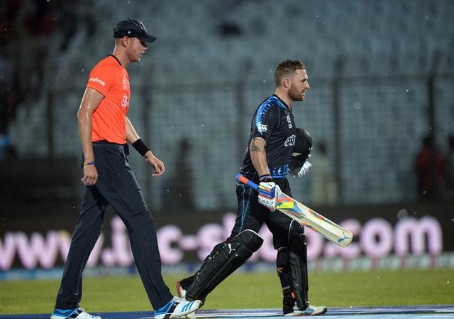 ICC World Twenty20, highlights: New Zealand beat England by nine runs on D/L method after rain plays spoilsport