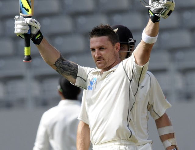 New Zealand vs India: Brendon McCullum scores 2nd ton as skipper