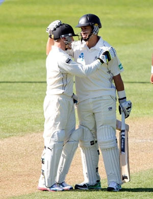 3rd Test: Ross Taylor, Kane Williamson score fifties as New Zealand fightback vs Windies