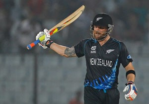 World Twenty20: Brendon McCullum guides New Zealand to a six-wicket win over Netherlands