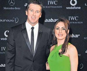 McGrath and wife stunned by magazine claims