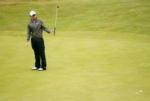 Houston Open: Rory McIlroy struggles as Cink, Haas share lead