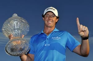 Rory McIlroy holds off Tiger Woods, goes to No. 1