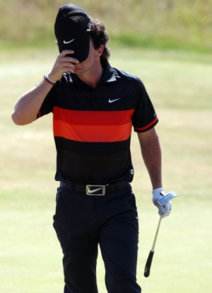 British Open: Rory McIlroy retreats after Muirfield mauling