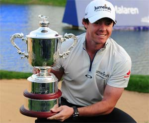 McIlroy takes Shanghai Masters title